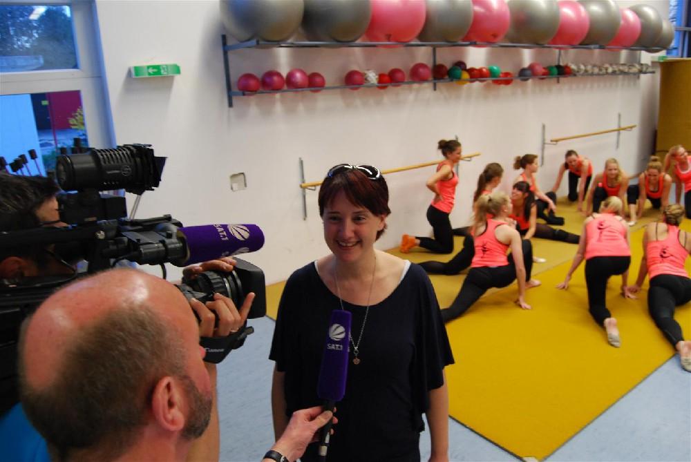 Claudia Wiedemann im Interview mit Wolfgang Köppendörfer