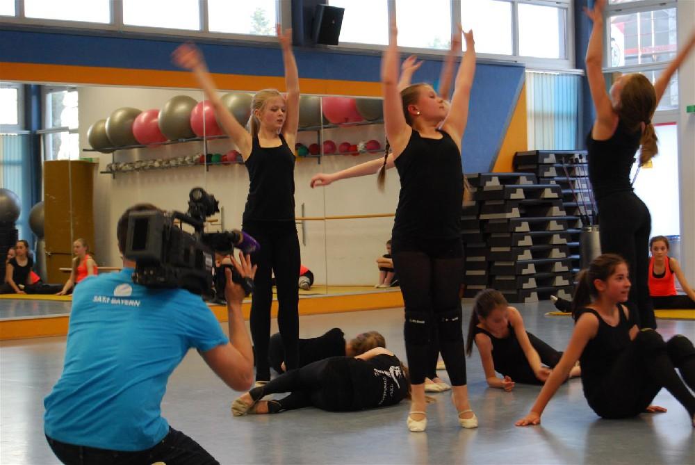 Unsere Tänzerinnen auf Sat.1