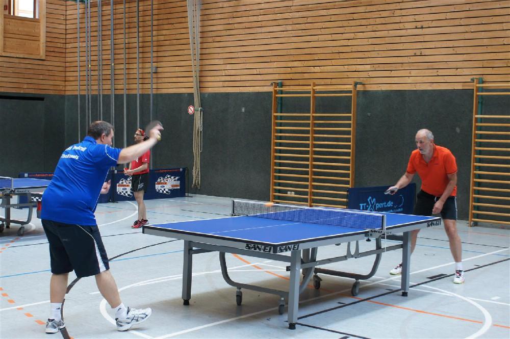 Tischtennisturnier zum Jubiläum