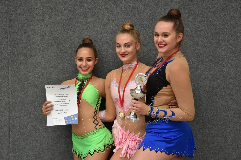 Gold für Laura, Sabrin und Lisa