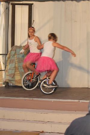 Im Teufelsrad ist s lustig