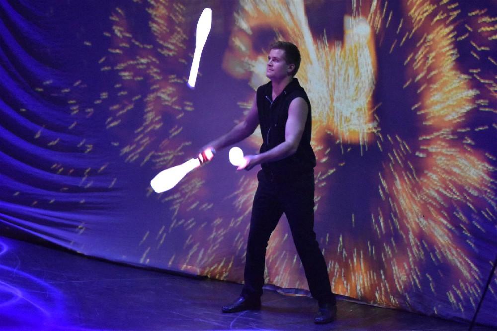 Feuerwerk der Turnkunst
