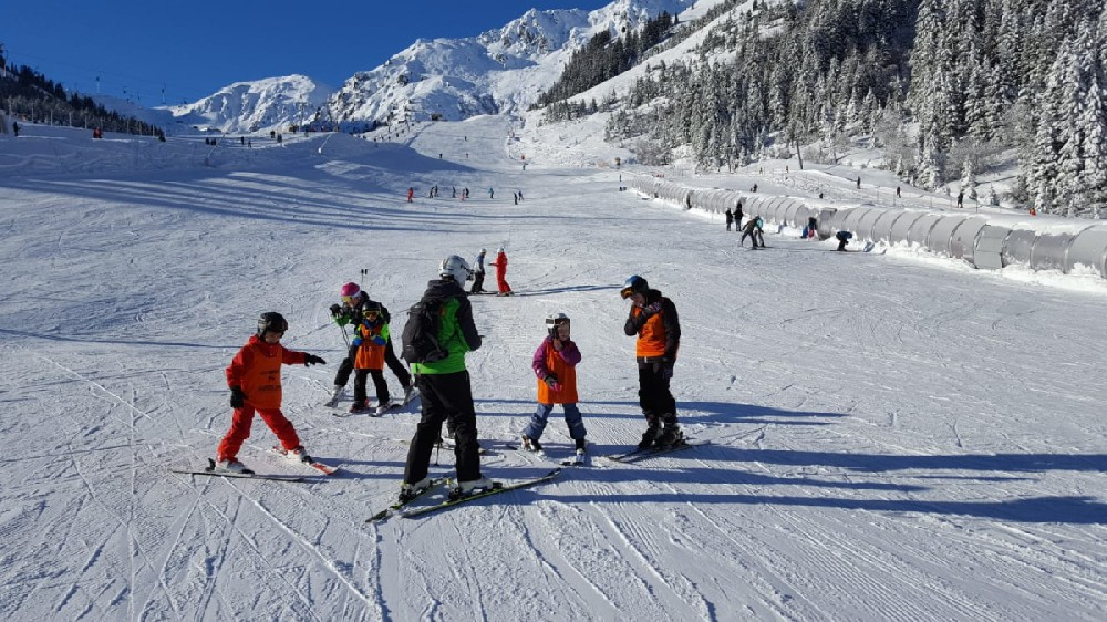 Skikurs Tag 2 in Hochfügen