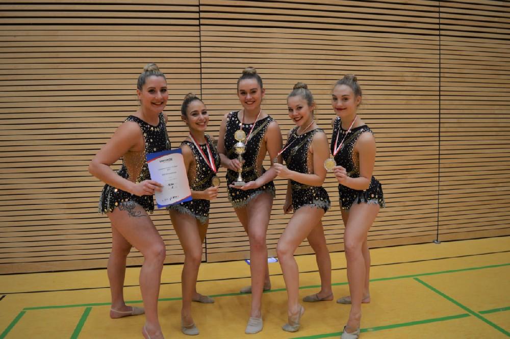 Gauwettkampf Rhythmische Gymnastik Kür-Übungen 2019