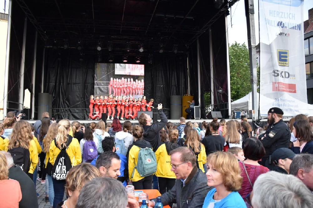 Turnfest19: I-Motion bei Eröffnungsfeier